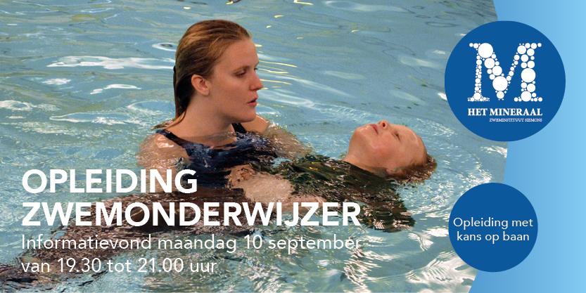 Home kom zwemmen in zwembad het mineraal almere